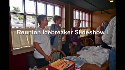 Reunion Icebreaker Slideshow I-Display
