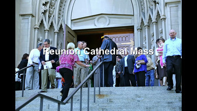 Reunion Cathedral Mass Slideshow