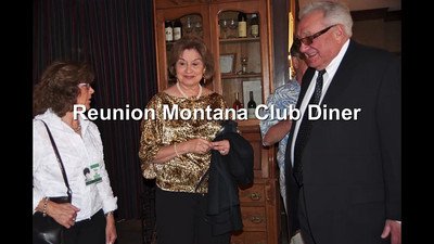 Reunion Montana Club Diner Slideshow
