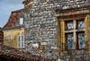 Windows, Monpazier, France