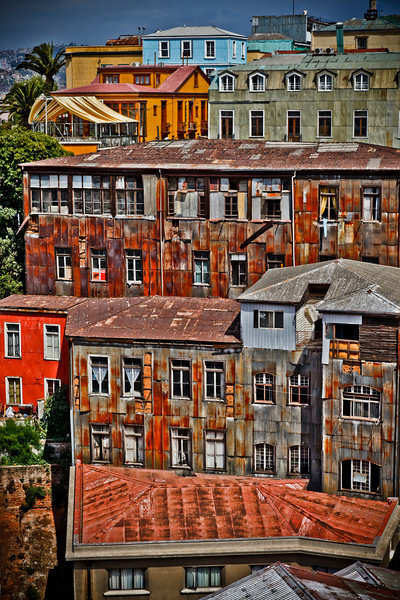 Valparaiso Neighborhood, Chile