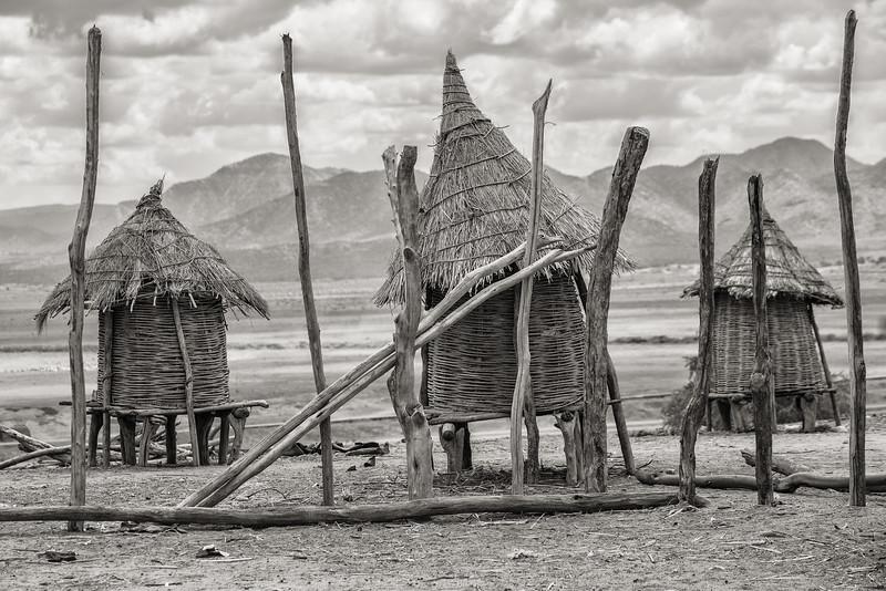 Omo Valley Village, Ethiopia