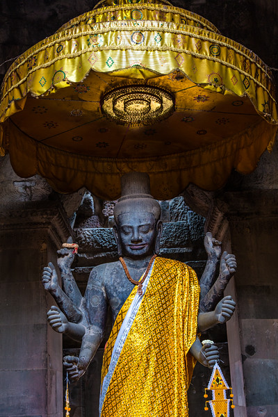 Vishnu, Angkor Temples, Cambodia