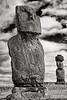 Moai on Platforms, Easter Island