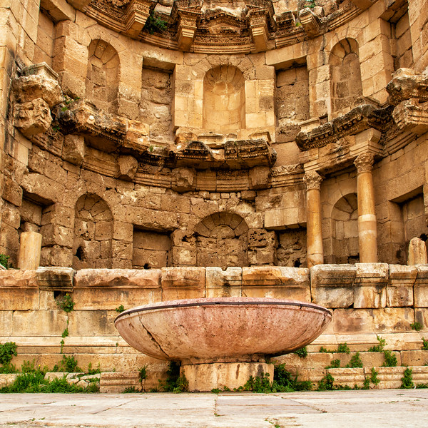 Nymphaeum, Roman Ruins of Jerash, Jordan