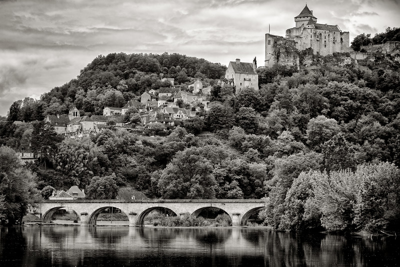Castelnaud Bridge, Dordogne, France