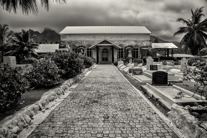 Church, Rarotonga, Cook Islands