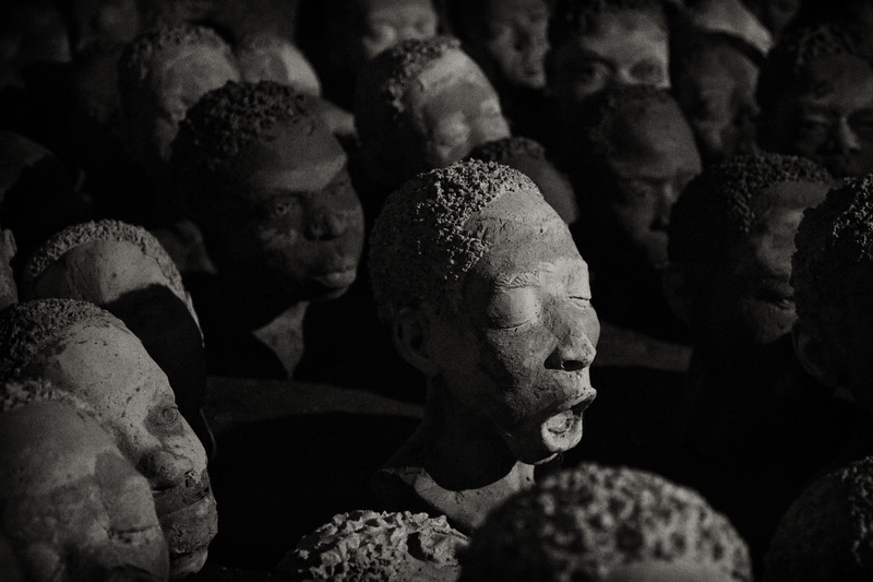 Slavery Memorial, Elmina Castle, Ghana