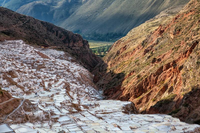 Salineros Salt Mine, Sacred Valley, Peru