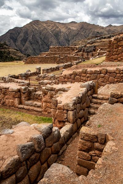 Inca Ruins of Chinchero, Sacred Valley, Peru