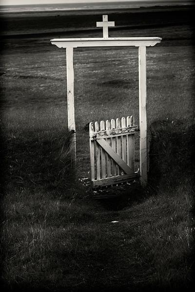 Cemetery Gate, Iceland