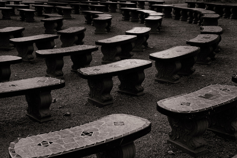 Benches, New Mexico