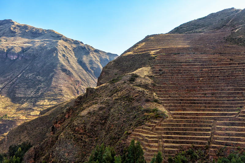 Inca Ruins of Pisac, Sacred Valley, Peru
