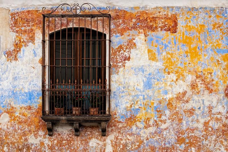 Antigua Window, Guatemala