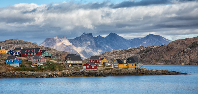 Clouds Over Kusuluk, Greenland