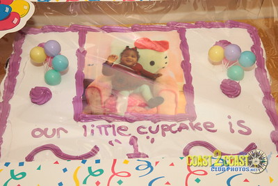 cupcake 1st birthday party