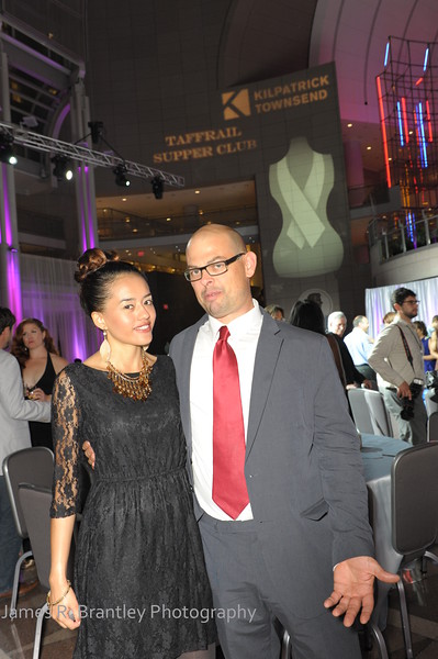 The American Cancer Society celebrates cancer survivors with a fete at the Ronald Reagan Building and International Trade Center in Washington, DC  on Friday, June 22, 2012.  The evening featured a survivors' fashion show with designs by Fashion Star's Barbara Bates, local designer Sondra Falk, Cure by Design Founder Alex Garfield, and Charlotte based designed Luis Machicao.      (James R. Brantley)