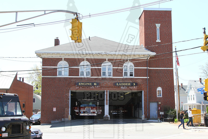 Somerville, Ma quarters of Engine 6 and Ladder 3