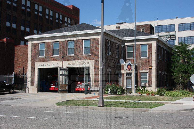 Detroit, MI Engine 17 and ladder 7