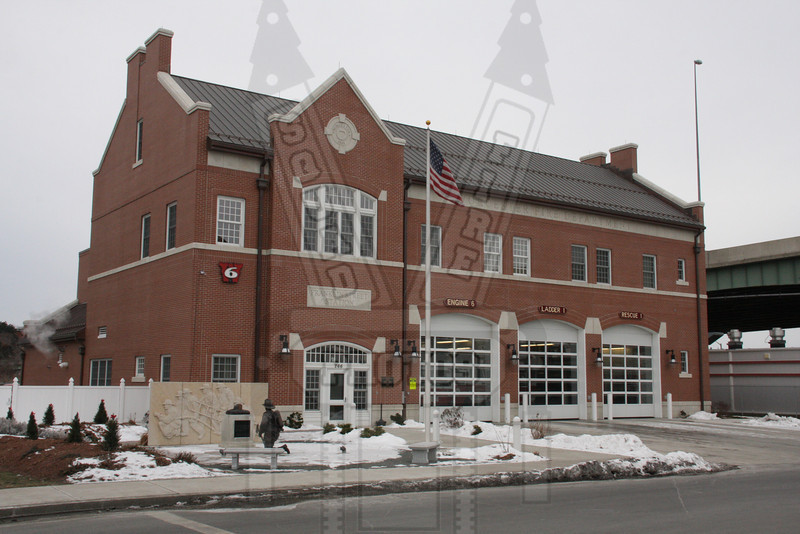 Worcester, Ma Home to Engine 6, Ladder 1 and Rescue 1. This firehouse is built on the Worcester Cold Storage warehouse property where 6 Worcester firefighters were killed in the line of duty on December 3, 1999.
