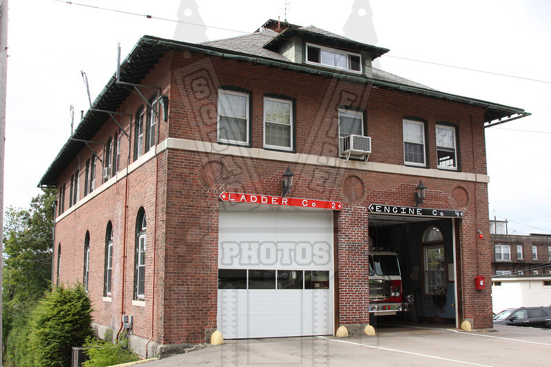 Quincy, Ma home to Engine 4 and Ladder 2
