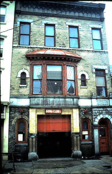 Old picture of Gong Club, Inc. quarters in Jersey City, NJ