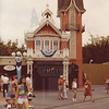 Disney World Engine 71's firehouse. Picture taken in 1982