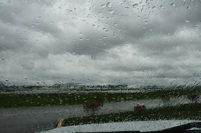 Boeing thur the rain