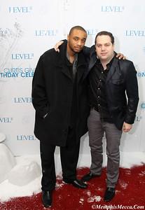 DJ E-FEEZY (L) & DEVIN STEEL (R)
