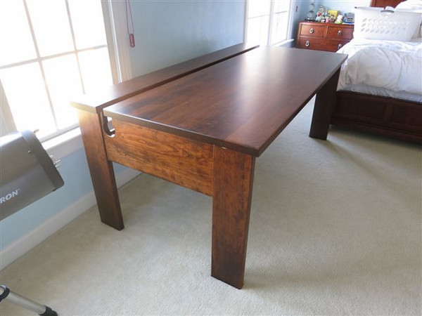Computer Scientist Dream Desk by Harmony Cedar Amish Craftsmen