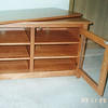 Solid Red Cherry LCD TV Stand