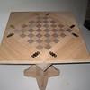 1/4 Sawn Oak Game Table