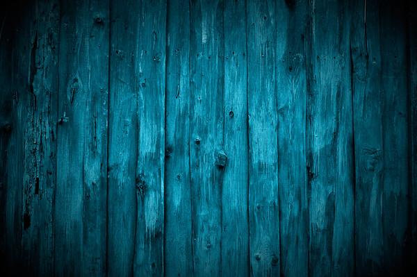 Dark Blue Wooden Wall