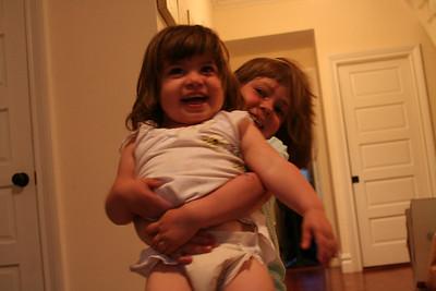 Cute Kids and their Minders June 08