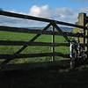 Part way along a bridleway that I made the mistake of cycling up (down would be fine!) between Silsden and Riddlesden.