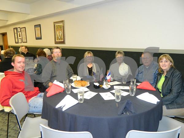 left to right: Jerod Ulicki, Rich and Julie Mabe, Sandi Ulicki Blattner, Jerry Ulicki, and Peggy Ulicki