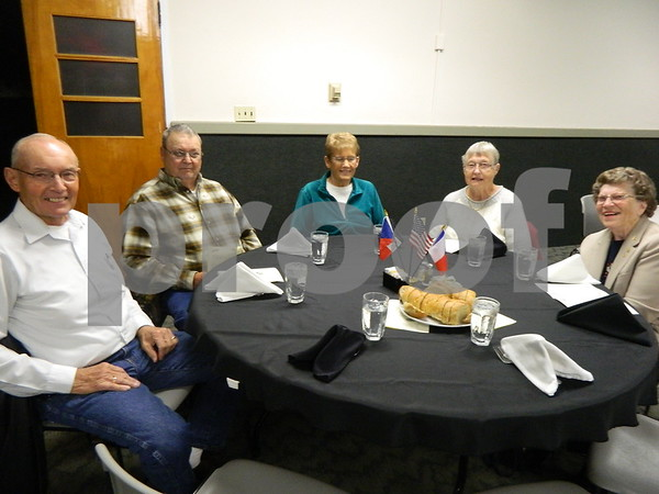 Left to right: Charlie Volt, Donald Lee Rogers, Dorothy Rogers, Janice Volf, and Janice Tilley