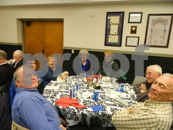 Left to right: Jim Webster, Mary Gilley, Nadene Blanchard, Kirriw Webster, Laurie Kauffman, Ray Kauffman