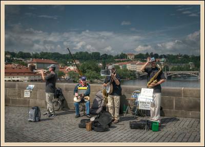 The Bridge Band, Prague, Czech Republic.
