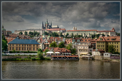 Prague Castle and St. Vitus Church, Prague, Czech Republic.
