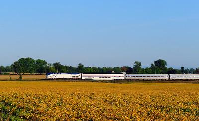 Amtrak Adirondack, Lacolle, Qc