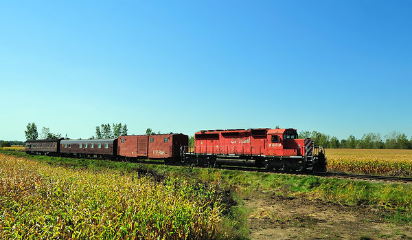 Canadian Pacific Tec Train, Lacolle, Qc