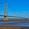 Humber Bridge, from south Bank Feb 2014
