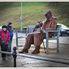 Larger than life metal statue Scarborough South bay