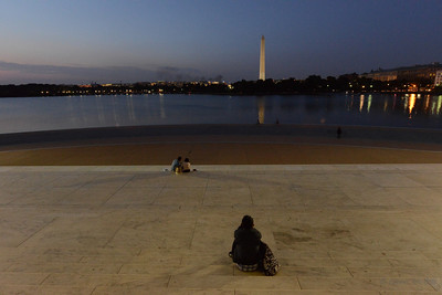 From the steps of the Jefferson Monument