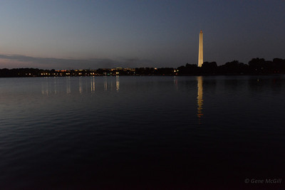 Washington Monument from the Jefferson Monument.