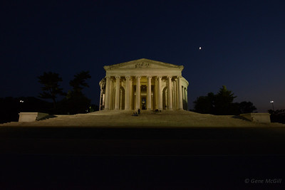 Jefferson Monument at ISO 3200