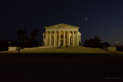 Jefferson Monument at ISO 6400