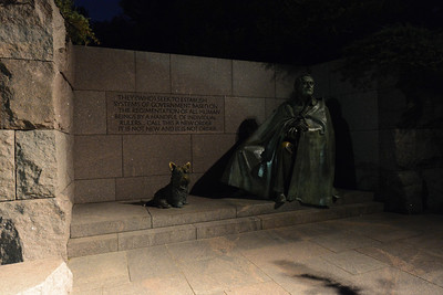 FDR & pup.