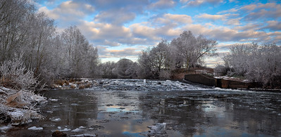 River Teme Panoramic West